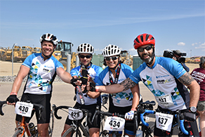 Alberta Blue Cross bike team
